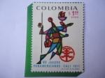 Stamps : America : Colombia :  VI Juegos Panamericanos - Cali 1971