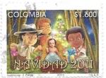 de America - Colombia -  Navidad
