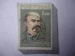 Stamps : Europe : Portugal :  Eduardo Coelho (1835-1889) Tipógrafo y Periodista Fundador Diario de Noticias