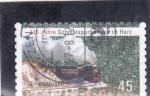 de Europa - Alemania -  125 años en los ferrocarriles de vía estrecha de Harz