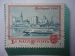 Sellos de Europa - Hungría -  Vista de Budapest 1972-