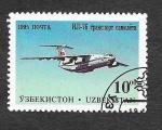 Stamps : Asia : Uzbekistan :  89 - Aviones Militares