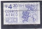 Stamps Mexico -  Danza de la pluma