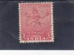 Stamps India -  figura hindú