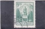 Sellos del Mundo : Europa : Rumania : monumento