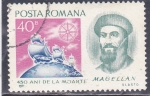 Stamps : Europe : Romania :  Magallanes