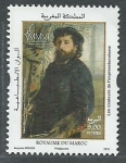 sello : Africa : Marruecos : Auguste Renoir