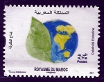 sello : Africa : Marruecos : Createvidad Infantil