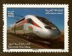 sello : Africa : Marruecos : T.V.G.  Al Bouraq