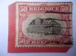 Stamps : Europe : Belgium :  Louvain (Ciudad de Bélgica)
