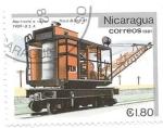 Sellos del Mundo : America : Nicaragua : martinete a vapor