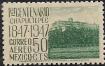 Sellos de America - México -  Castillo de Chapultepec, Cd Mx