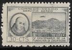 Sellos del Mundo : America : México : IV centenario de la Cd de Zacatecas