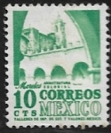 Stamps : America : Mexico :  Morelos, arquitectura colonial