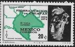 de America - México -  Federalización del Estado de Chiapas