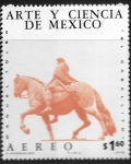 de America - México -  Estatua ecuestre de Carlos IV, Cd Mx