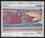 de America - México -  Regreso de Quetzalcóatl, por José Chávez Morado