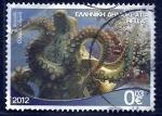 sello : Europa : Grecia : Cefalopodo