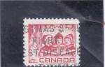 Sellos del Mundo : America : Canadá : NAVIDAD-