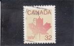 de America - Canadá -  hoja