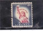 de America - Estados Unidos -  estatua de la libertad