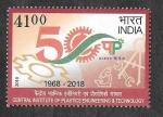 Stamps Asia - India -  L Aniversario del Instituto Central de Ingeniería y Tecnología Plástica