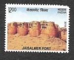 Sellos de Asia - India -  Fuerte de Jaisalmer