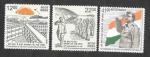 Stamps : Asia : India :  LXXV Aniversario de la Primera Bandera Izada en el Puerto de Blair