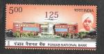 Stamps India -  125ª Anviersario del Banco Nacional de Punjab