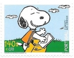 Stamps : Europe : Portugal :  snoopy