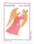 Stamps : America : Brazil :  angel