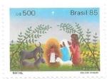 Stamps : America : Brazil :  nacimiento