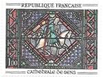 Sellos de Europa - Francia -  Catedral de Sens