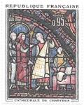 sello : Europa : Francia : Catedral de Chartres