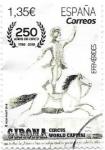 Sellos de Europa - España -  250 años de circo