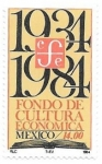 sello : America : México : Fondo de cultura económica