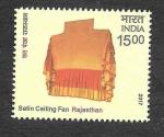 Stamps : Asia : India :  Abanicos y Ventiladores Indios