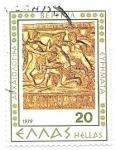 Sellos de Europa - Grecia -  relieve
