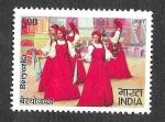 Stamps Asia - India -  Danzas Tradicionales