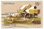 Stamps Oceania - Australia -  Cosechadora