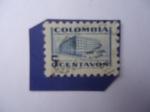 de America - Colombia -  Sobretasa para la construcción Palacio de Comunicaciones - Miniatura Filatélica.