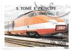 Sellos del Mundo : Africa : Santo_Tomé_y_Principe : locomotora