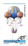 sello : Europa : Polonia : globos