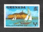 Stamps : America : Grenada :  583 - Veleros