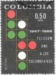 Sellos de America - Colombia -  Telecom