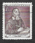 Stamps Czechoslovakia -  509 - 360 Aniversario del Nacimiento de Jan Amos Komensky