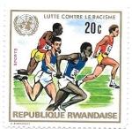 Sellos del Mundo : Africa : Rwanda : Lucha contra el racismo