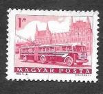 Sellos del Mundo : Europa : Hungría : 1515 - Autobús