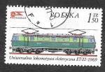 Stamps Poland -  2146 - Locomotoras