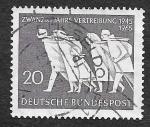 Sellos del Mundo : Europa : Alemania : 930 - XX Años de la Expatriación Alemana